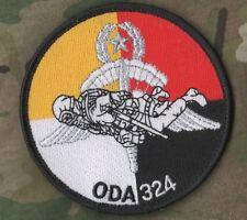 KILLER ELITE SPECIAL FORCES OPERATIONAL DETACHMENT-A HALO νeΙcrο SSI: ODA 324
