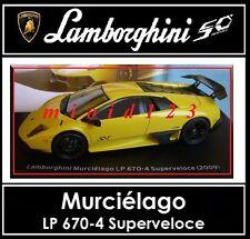 1/43 -  Lamborghini Collection 50° : MURCIELAGO LP 670-4 Superveloce - Die-cast