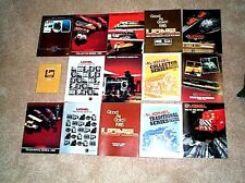 1980-1989 LIONEL TRAINS  CATALOGS MINT