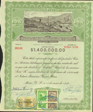 Compania de Minas la Blanca > 1936 Mexico White Mining Company bond certificate