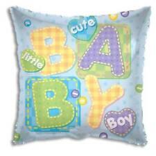 "Baby Boy Foil Square Balloon 18"" Blue"