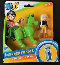 Fisher Price Imaginext Teen Titans Go Beast Boy and Terra New