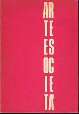 ARTE E SOCIETA'. N 3, Maggio-Giugno 1972