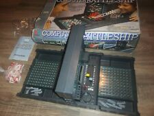 Vintage Computer Battleship MB boxed with instructions 1977 complete working