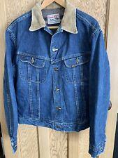 Vintage Lee 101-LJ Storm Rider Denim Jacket Size 46 Long