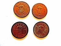 """1954 (Year 43) Taiwan One (1) Jiao """"Map"""" (One Coin Per Order)"""