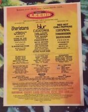 Leeds Festival Blur charlatans 1999 press advert Full page 29 x 37 cm poster