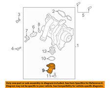 AUDI OEM 11-17 Q5-Engine Coolant Thermostat Housing 06H121121L
