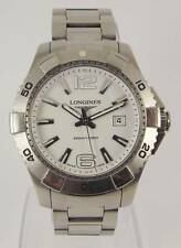 Longines Stainless Steel Case Brushed Wristwatches
