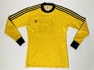 1980´s Adidas Vintage Template Football Shirt Adult S Made In West Germany