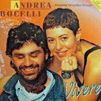 ANDREA BOCELLI ft. GERARDINA TROVATO : VIVERE - [ CD SINGLE ]