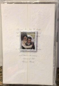 WILTON 25-Count Invitation Kit - Wedding Cards Envelopes Test Sheets Frames NOB