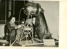 Londres 1950, Voltmètre de fabrication française au Science Museum Vintage silve