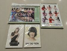 Super Rare Girls Generation SNSD Taeyeon Jessica Calendars & Post Card See Info