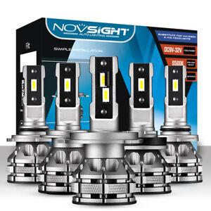 NOVSIGHT H1 H4 H7 H11 9005 9006 LED Headlight 80W 15000LM Conversion Bulbs Kit