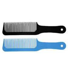 2pcs/Set Flat Top Clipper Comb Salon Barber Hair Cutting Blending Tapering