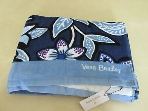 "Vera Bradley Large 33"" x 66"" Beach Towel Tropics Tapestry Print New With Tag"