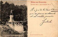 CPA   Gruss aus Gravelotte - Denkmal Rhein Jager-Bataillon No 8 (454557)