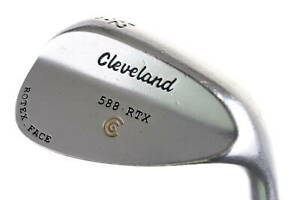 Cleveland 588 RTX Satin Wedge Gap Wedge 52° Right-Handed Steel #15679 Golf Club