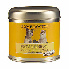 Wax Lyrical Home Doctor Pets Remedy Scented Candle Tin Odour Remover Eliminate