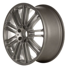 85195 Factory OEM Reconditioned 19X8.5 Alloy Wheel Silver 9 Double Spoke