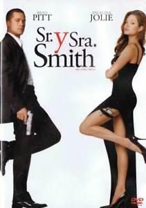 Sr. y Sra. Smith. Angelina Jolie y Brad Pitt. DVD