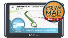 NAVMAN My Truck GPS Navigator N382 LifeTime Maps update w/ Universal Mount