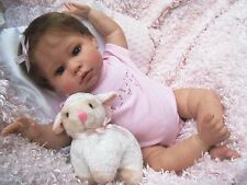 Lee Middleton HONEY PIE Sculpt REBORN Baby Girl Doll 3/4 Limbs Collectible OOAK