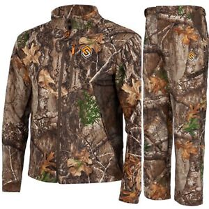 ScentLok Wind Brace Fleece Hunting Jacket & Pants Realtree XXL XL Bowhunting