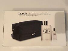 3 PC GIORGIO ARMANI Acqua Di Gio Gift Set,Eau De Toilette Natural Spray 6.7oz