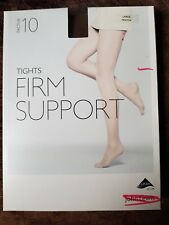 John Lewis   10 FACTOR FIRM SUPPORT TIGHTS Large - Mocca