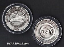 ENTERPRISE NASA DRYDEN COIN-MEDALLION - FLOWN METAL FROM SPACE SHUTTLE ENTER