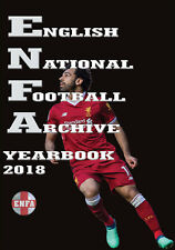 English National Football Archive Yearbook 2018 - Premier and League Statistics