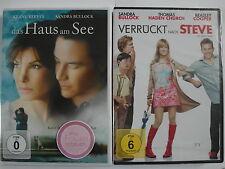 Sandra Bullock Frauen Romantik Sammlung - Das Haus am See & Verrückt nach Steve