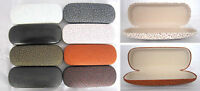 C9-1  Reading Glasses Case & PVC Faux Leather Cover & Delicate Vintage Designed