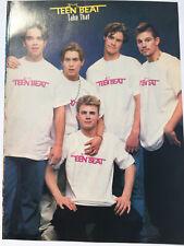 VTG 90s' PINUP Take That + SWV Cheryl Gamble Teen Beat Magazine 1 PAGE