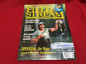 July 1992 Field & Stream Magazine~East Edition~Sporting Clays, Spinning for Bass