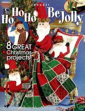 Ho Ho Ho Be Jolly Annie's Attic Crochet Patterns Christmas Holiday Quilt 8 Ideas
