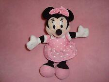 "2014 Disney Minnie Mouse in pink polka dot dress Publications international 8"""