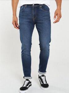 Levi's Men's 512 Slim Taper Fit Jeans in Low Rise Medium  Blue