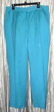 New **JUDITH HART WOMEN** Turquoise, Linen/Rayon, Lined Pants, 16W