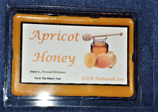 **NEW** Hand Poured Fruity Scented Soy 6 oz Warmer Tarts - Apricot Honey