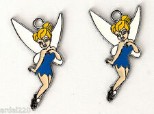 DIY Tinkerbell 1 inch necklace/bracelet Pendant charms