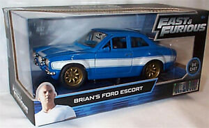 FAST & FURIOUS Brians Ford Escort  1/24 SCALE OPENING FEATURES 99572 BB