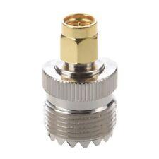 Adaptador Coaxial Conector UHF SO-239 SO239 Hembra a SMA Macho Q2N2