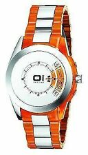The One Men's Watch Analogue Turning Disc Orange AN08G07