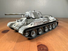 Professional Built WWII World War 2 RUSSIAN T34 tank model finished