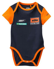 KTM Replica Baby Body Short Sleeve Bodysuit Blue Orange New