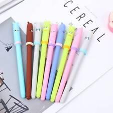 Animal 6 Pcs Creative Expression Gel Pens Kawaii Pen Korean Stationery Gifts