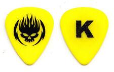 Offspring Greg K Yellow Guitar Pick - 2015 Tour